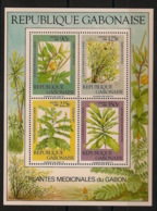 Gabon - 1986 - Bloc Feuillet BF N°Yv. 54 - Plantes Médicinales - Neuf Luxe ** / MNH / Postfrisch - Gabun (1960-...)