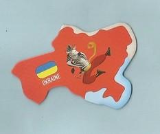 Magnet Brossard Collection Carte  UKRAINE - Tourisme