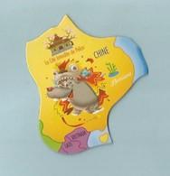 Magnet Brossard Collection Carte  De L'ASIE - Tourisme