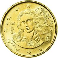 Italie, 10 Euro Cent, 2006, SPL, Laiton, KM:213 - Italie