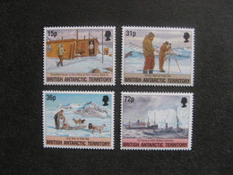 Territoire Antarctique Britannique: TB Série N° 241 Au N° 244, Neufs XX. - Neufs