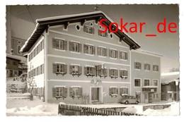AK Gasthof Zur Alten Post, Heute Hotel Alte Post, Fieberbrunn, Oldtimer - Fieberbrunn