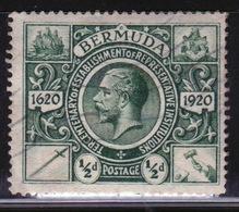 Bermuda George V ½d Single Stamp From The Second Tercentenary Series Of 1921. - Bermuda