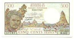 Gibuti - 500 Francs 1988 - Gibuti
