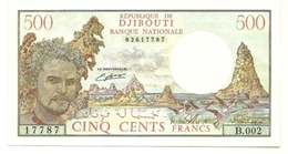 Gibuti - 500 Francs 1988 - Djibouti