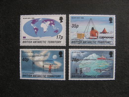 Territoire Antarctique Britannique: TB Série N° 265 Au N° 268, Neufs XX. - British Antarctic Territory  (BAT)