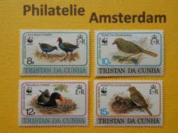 Tristan Da Cunha 1991, WWF FAUNA BIRDS VOGELS OISEAUX: Mi 513-16, ** - W.W.F.