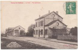 D02 - COUCY LE CHÄTEAU - La Gare, Vue Extérieure - Altri Comuni