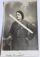 1918 Chasseurs à Pieds 26eme Bataillon André Dumerat Briscard Croix Guerre 2 Citations Tranchée Poilus 1914 1918 WW1 Cph - War, Military