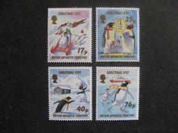 Territoire Antarctique Britannique: TB Série N° 277 Au N° 280, Neufs XX. - Neufs