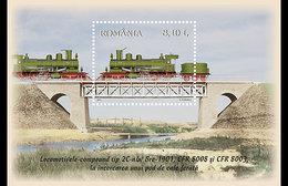 Romania 2011 Trains - Locomotives.MNH - Blocs-feuillets