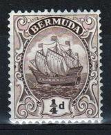 Bermuda George V ¼d Single Stamp From The 1922 Definitive Set. - Bermuda
