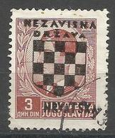 HR 1941-14 DEFINITIVE SET, CROATIA HRVATSKA, 1 X 1v, Used - Croatie
