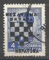 HR 1941-15 DEFINITIVE SET, CROATIA HRVATSKA, 1 X 1v, Used - Croatie
