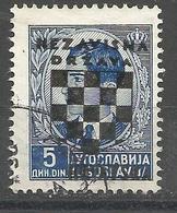 HR 1941-16 DEFINITIVE SET, CROATIA HRVATSKA, 1 X 1v, Used - Croatie