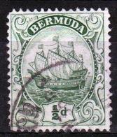 Bermuda George V ½d Single Stamp From The 1922 Definitive Set. - Bermuda