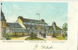 Gävle 1901 (Gävleborgs Län); Gefle Utställningen, Hufvudrestauranten - Circulated. (Officiella Brefkort) - Zweden
