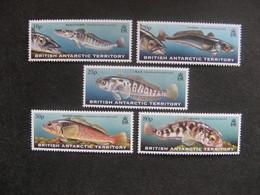 Territoire Antarctique Britannique: TB Série N° 302 Au N° 306, Neufs XX. - Neufs
