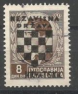 HR 1941-19 DEFINITIVE SET, CROATIA HRVATSKA, 1 X 1v, Used - Croatie