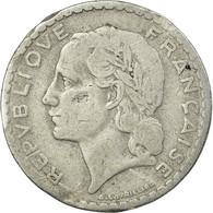 Monnaie, France, Lavrillier, 5 Francs, 1952, Paris, TB, Aluminium, Gadoury:766a - France
