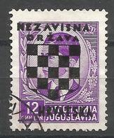 HR 1941-20 DEFINITIVE SET, CROATIA HRVATSKA, 1 X 1v, Used - Croatie