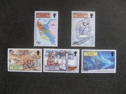 Territoire Antarctique Britannique: TB Série N° 307 Au N° 311, Neufs XX. - Neufs
