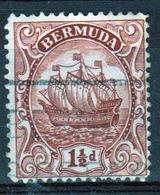 Bermuda George V 1½d Single Stamp From The 1922 Definitive Set. - Bermuda
