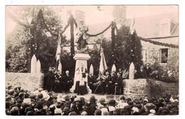AVRANCHES (50 Manche) - CARTE PHOTO De L'INAUGURATION MONUMENTS AUX MORTS JARDIN PUBLIC ANIMATION (Ed. LEPROVOST) - Avranches