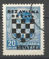 HR 1941-22 DEFINITIVE SET, CROATIA HRVATSKA, 1 X 1v, Used - Croatie
