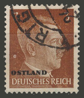 Third Reich / Ostland / 1941 / Mi.: 2 / Used - Occupation 1938-45