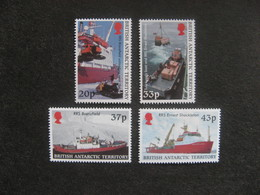 Territoire Antarctique Britannique: TB Série N° 321 Au N° 324, Neufs XX. - British Antarctic Territory  (BAT)