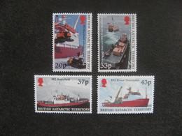 Territoire Antarctique Britannique: TB Série N° 321 Au N° 324, Neufs XX. - Neufs