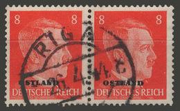 Third Reich / Ostland / 1941 / Mi.: 4 / Used - Occupation 1938-45