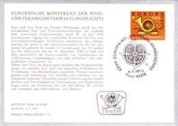 1973   Europa 1973 FDC Karte (ANK 1446, Mi 1416) - FDC