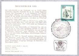 1973  Schönes Ö: Podersdorf FDC SSt  Karte (ANK 1597) - FDC