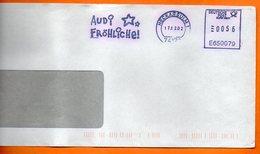 ALLEMAGNE  AUDI  2002   Lettre Entière 110x220 N° MM 683 - Autos