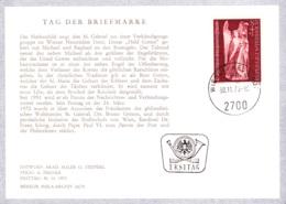 1973 TdB 1973: Gabriel FDC OT 2700 Karte (ANK 1460) - FDC