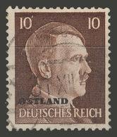 Third Reich / Ostland / 1941 / Mi.: 7 / Used - Occupation 1938-45