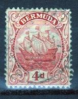 Bermuda George V 4d Single Stamp From The 1922 Definitive Set. - Bermuda