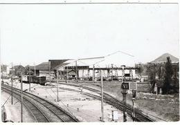 """Beuvrages / CPSM  / Gare De Triage /  """" Le Nord Touristique """" - France"""