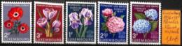 NB - [833809]Luxembourg 1956-1959 - Floralies, Fleurs, Végétaux, SNC - Luxembourg