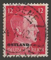 Third Reich / Ostland / 1941 / Mi.: 8 / Used - Occupation 1938-45