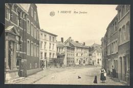 +++ CPA - HERVE - Rue Jardon   // - Herve