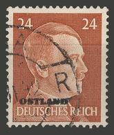 Third Reich / Ostland / 1941 / Mi.: 11 / Used - Occupation 1938-45