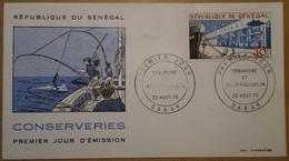 FDC Sénégal Aériens  A1970 - Sénégal (1960-...)
