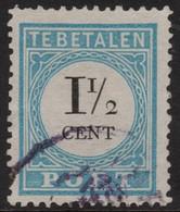 ~~~ Nederland Netherlands 1881/1887 - Port  Type II Perf K 13½ - NVPH P4A (o) Used  - Cat. 35.00 Euro ~~~ - Portomarken