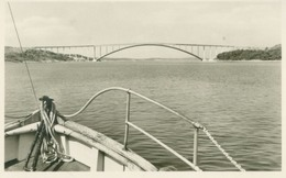 Tjörn, Almön (Västra Götalands Län); Tjörnbron (Bridge) - Not Circulated. (Sven Siljemar - Trollhättan) - Zweden