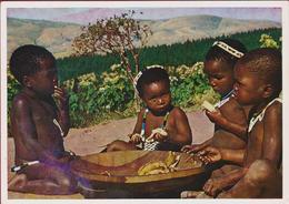 Zulu Children Tribe Afrique Etnique Etnic South Africa South-Africa Zuid-Afrika Du Sud Banana Grand Format Enfants - Afrique Du Sud