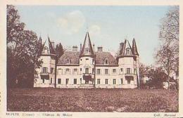 Creuse        184         BETETE.Château De Moisse - Autres Communes