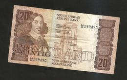 SOUTH AFRICA - SOUTH AFRICAN RESERVE BANK - 20 RAND (1982 - 1985) - Zuid-Afrika
